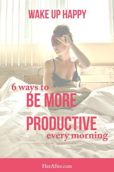 Wanting to be more productive in the morning is a buzz term on everyone's lips, because research is revealing that having a productive day starts with the habits you implore at the start of y…