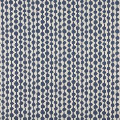 A0010E Off White Circle Striped Upholstery Fabric