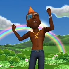 I love my #ZyngaAvatar! Head to Zynga.com to make your own today. http://fun.zynga.com/avatarpin fick dich ja sdkf lol