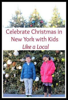 Don't get trapped in the tourist spots! Celebrate Christmas in New York with Kids -- Like a Local! Here are some great ideas your kids will love! Museums In Nyc, Free Museums, Holiday Train Show, Ny Botanical Garden, Fun Christmas Activities, Snug Harbor, Nyc With Kids, Guinness Book, Santa Pictures