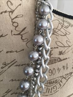Great necklace for fall! https://cindysfaves.com/collections/necklaces/products/multi-layered-silver-and-bead-necklace