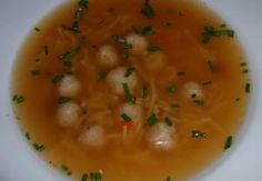 Drožďové knedlíčky - kořeněné Cheeseburger Chowder, Thai Red Curry, Lunch, Dinner, Ethnic Recipes, Soups, Dining, Eat Lunch, Food Dinners