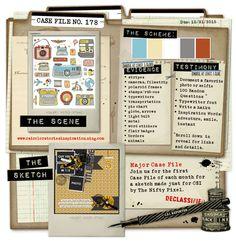 Major Case File No. 178 {Case closes on October 31, 2015} - CSI: Color, Stories, Inspiration