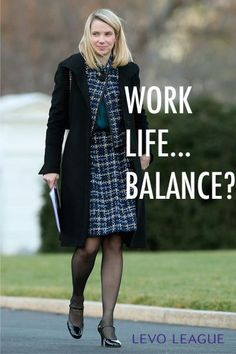 Career infographic : Lets Talk About Marissa Mayers Work-life Balance Policy