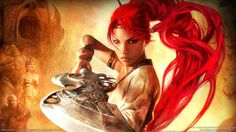 Nariko is the primary protagonist of Heavenly Sword and the wielder of the weapon of the same name. Seen by her people as a princess but she saw her self as a warrior. She died for her people and will always be remembered. Final Fantasy Vii Remake, Fantasy Hd, Fantasy Girl, Fantasy Images, Fantasy Warrior, Fantasy Women, Fantasy Artwork, Ps3 Games, Games Box