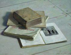 HENK HELMANTEL Still Life with Books (1945)