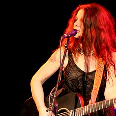 Johnette Napolitano of Concrete Blonde
