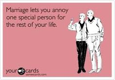 60 Ideas funny love quotes for husband marriage hilarious ecards Funny Marriage Advice, Marriage Humor, Love And Marriage, Funny Wedding Meme, Wedding Humor, Funny Quotes, Funny Memes, Hilarious, Funny Love