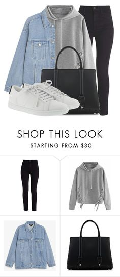 """Outfit #1938"" by lauraandrade98 on Polyvore featuring moda, Levi's, WithChic, Monki, La Perla y Yves Saint Laurent"