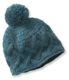 99cd99c2e09 Women s Chunky Knit Pom Hat