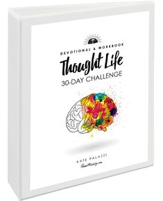 thought life challenge with cover and spine