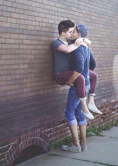 Solo gay men kiss images