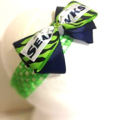Hey, I found this really awesome Etsy listing at https://www.etsy.com/listing/161717101/seattle-seahawks-baby-headband
