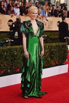 Nicole Kidman in Gucci - SAG awards 2017 Red Carpet Fashion f6a7c4b7e