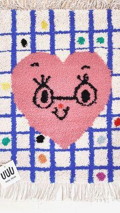 Childrens Rugs, Punch Needle, Rug Making, Couture, Wool Rug, Fiber Art, Needlework, Hand Weaving, Decoration