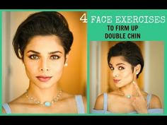 How to Get Rid of Neck Fat: 7 Double Chin Exercises & Makeup Tutorials – Care – Skin care , beauty ideas and skin care tips Face Exercises Cheeks, Jaw Exercises, Double Chin Exercises, Facial Exercises, Cheek Fat, Face Yoga Method, Yoga Facial, Face Massage, Too Faced