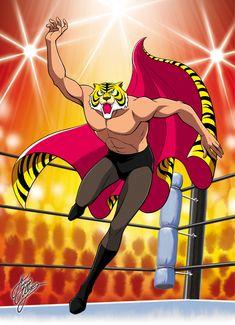 Tiger Mask Anime | TIGER MASK - UOMO TIGRE 03 BY MARCO ALBIERO