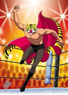 Tiger Mask Anime | TIGER MASK - UOMO TIGRE 03 BY MARCO ALBIERO