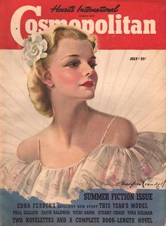 Cosmopolitan Magazine, July 1939 (Bradshaw Crandell)