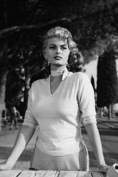 Sophia Loren, 1954.