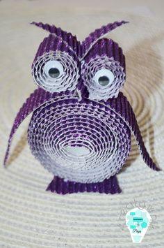 Paper owl / Papierowa sowa