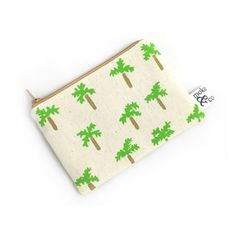 Palm Trees Zip Pouch