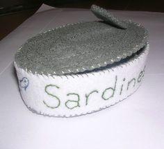 Felt Food-Sam McLean. Sardine can | Flickr - Photo Sharing!