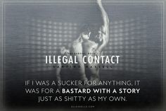 Illegal Contact - Santino Hassell - Book Teaser by Alleskelle. www.alleskelle.com/teasers #Alleskelle @Alleskelle