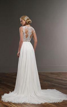 Blair+Shae Sexy Wedding Dress Separates by Martina Liana