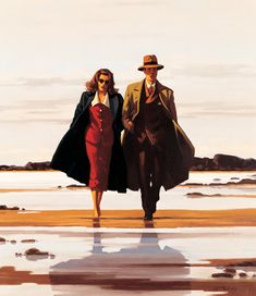 Jack Vettriano, The road to nowhere