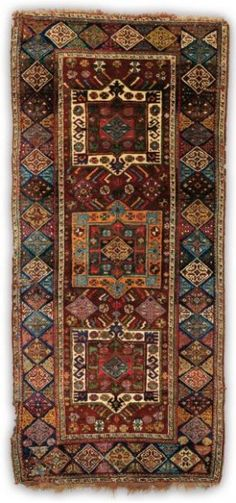 Lot 195, an antique North West Persian rug, circa 1880.  Gros & Delettrez – Carpets and Textiles 15 April 2013 in Paris