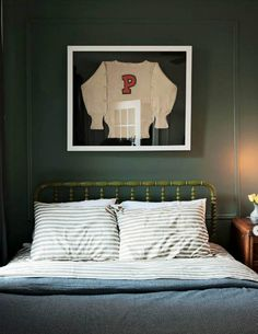 Framed Vintage Clothing, bedroom : Marcus Design: {art inspiration: frame vintage clothing}
