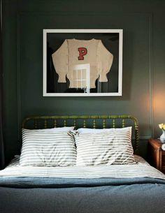 Framed Vintage Clothing, bedroom : Marcus Design: {art inspiration: frame vintage clothing}