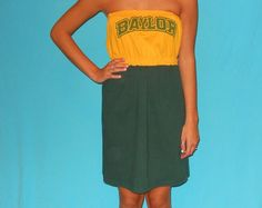 Baylor Bears GameDay Dress  Love My Game Dress by LoveMyGameDress, $40.00