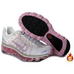 Nike Air Max 2009 Women Mesh Shoes White/Pink Color Air Max 2009, Pink Color, Nike Air Max, Sneakers Nike, Mesh, Shoes, Women, Fashion, Nike Tennis