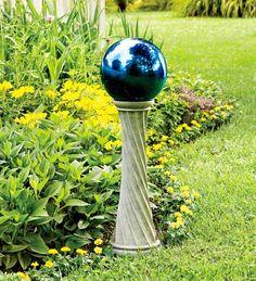 Unbreakable Steel Gazing Ball | Garden Art | Plow