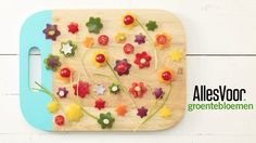 Maak een schilderij van groente. Lekker bij de paasgourmet #pasen #allesvoor #brunchgourmet #gourmet