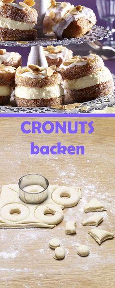 Step by Step geniale CRONUTS selber backen. Zum Beispiel mit cremiger Zitronencreme-Füllung! Cronut Rezept auf www.gofeminin.de/kochen-backen/anleitung-cronuts-d55203c626432.html