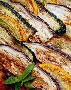 Legumes grelhados