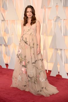 The Best Dressed at the 2015 Oscars - Keira Knightley in Valentino