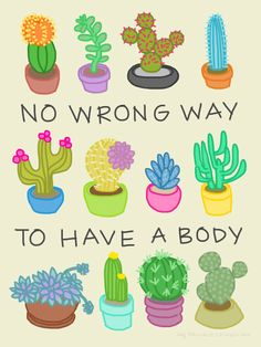 """No Wrong Way to Have a Body"" Sticker von Rachele Cateyes 