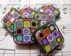 beads 001 by TLS Clay Design, via Flickr