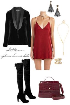 Date Night Outfit Ideas - What to Wear to an Uptown Dinner Date! Emily Holmes Hahn, Last First NYC - for The Stripe Blog