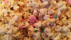 Children At Play: White Chocolate Valentine's Popcorn