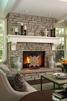 130 best fireplaces images fire places wood stoves wood oven rh pinterest com