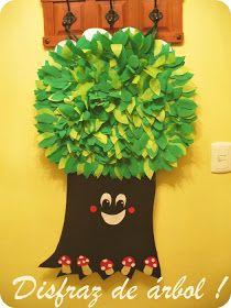 Hace años, cuando Rod estaba en preescolar, yo le hice este disfraz de árbol el cual compartí con algunas fotos, muchas personas llegan a es...