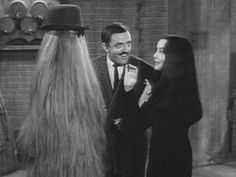 With Cousin It.  The Addams Family (1964-66)