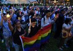 400 people gathered at Hong Lim Park today (June 14) in Singapore for a candlelight vigil held for the victims of the shooting at the nightclub in Orlando. The vigil, which was organised by Nichola…