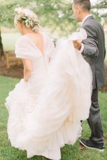 Whimsical Countryside Wedding | Photos - Style Me Pretty