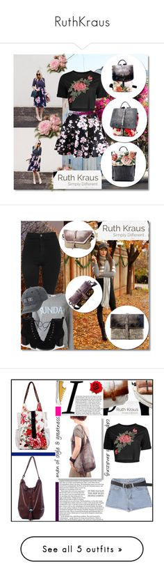 """RuthKraus"" by zehrica-kukic ❤ liked on Polyvore featuring WithChic, Topshop, Alberta Ferretti, Journee Collection, SO, Converse, MANGO, RVCA, adidas and Acne Studios"